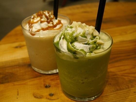 抹茶や緑茶を中心としたフードコートの飲食店に行って評価♪
